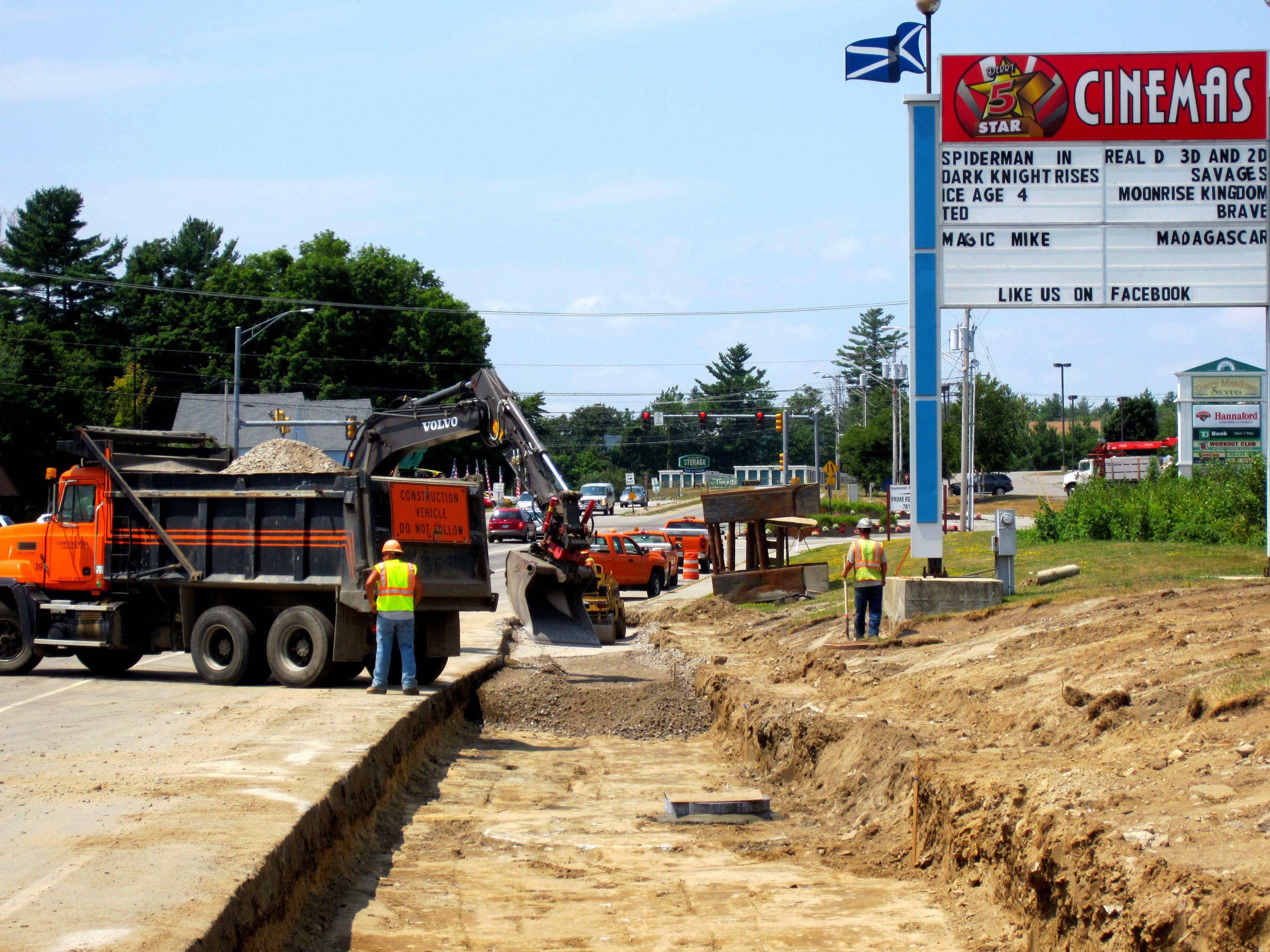 Construction of Sidewalks