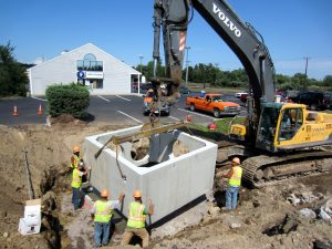 Utilities Construction Along Rt 28