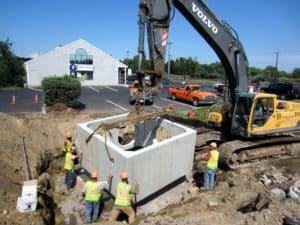 Utilities Construction Along Rt 28
