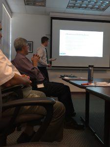 DeGraff Presenting to STIC
