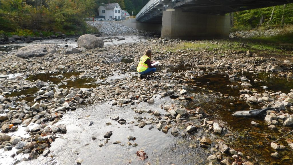 Hoyle, Tanner Staff Inspecting River Bed for Permitting