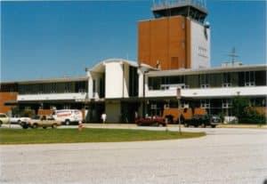 Original Office in Terminal Building
