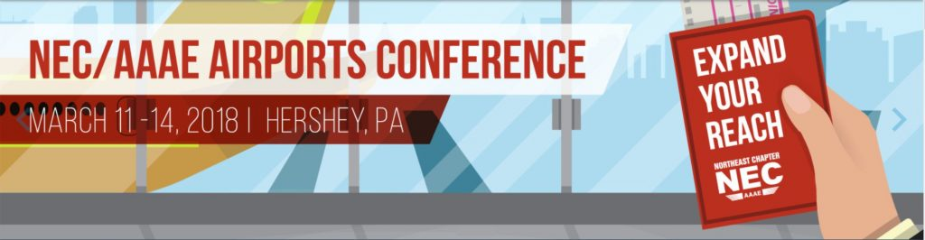 Airports Conference event website banner