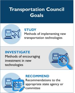 NHDOT Transportation Council list of goals