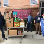 Employees Snack Donation at Concord Hospital