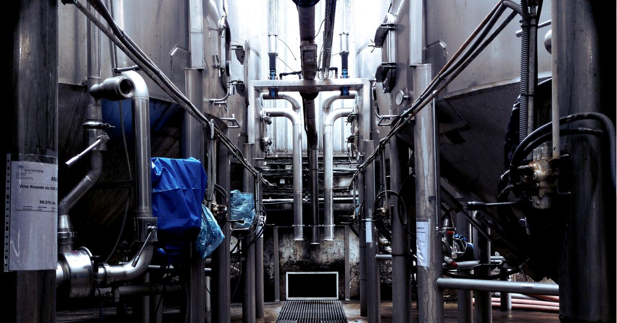 picture of bewery vats
